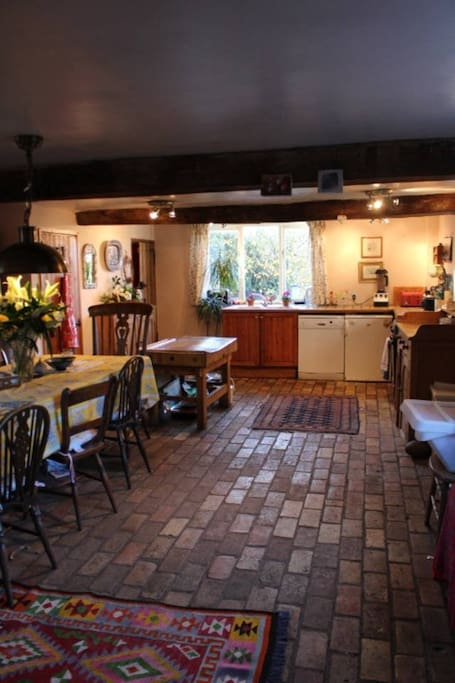 Shared Large Country Kitchen