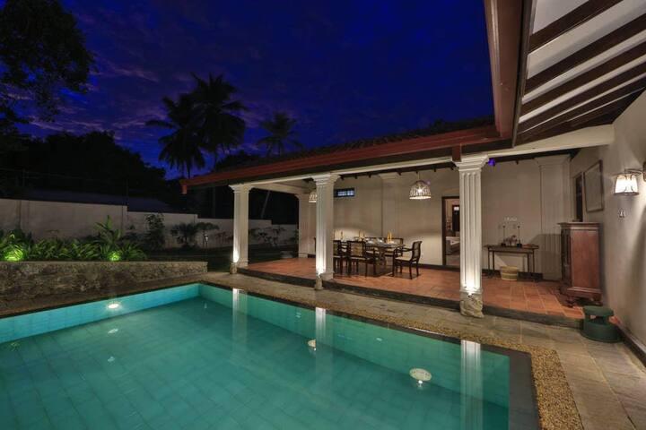 Exquisite Dutch Villa in Tangalle