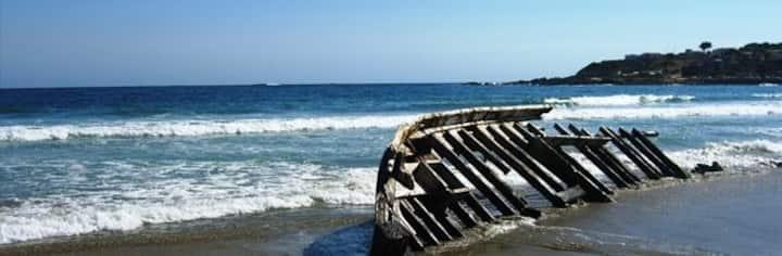 Los Molles Loft frente al mar. 7 personas
