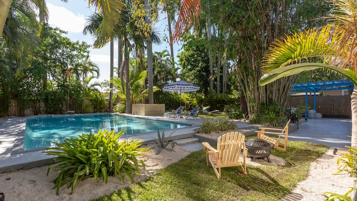 """""""BAMBOO BUNGALOW"""" CHIC OASIS IN THE CORE OF MIAMI"""