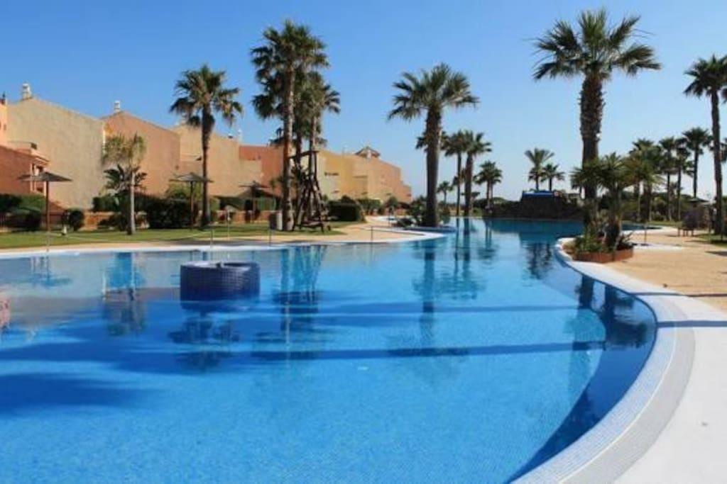 Pool at Jardines de Zahara