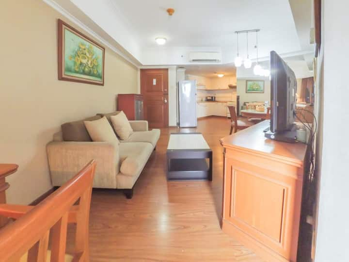Spacious 2BR apartment in the heart of Jakarta