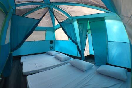 Comfort Camping in Tanay