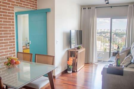 Cozy apartment, amazing view, pool, playground