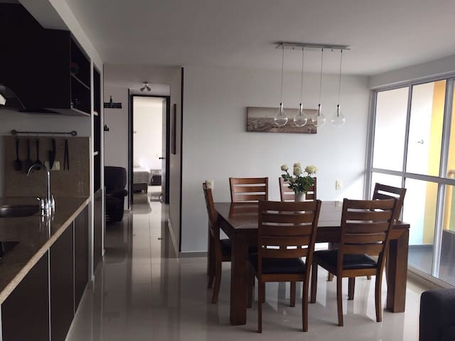 Comfortable and furnished apartment