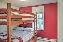 Bunk beds are perfect for the kids!