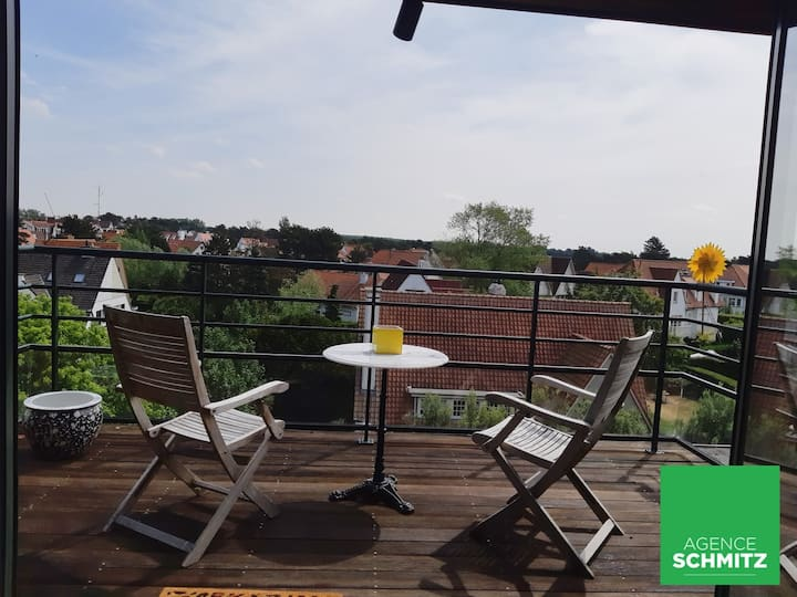 Cosy rooftop appartment with terrace