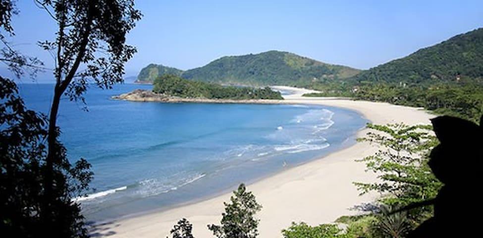 Lindas Praias, Cachoeiras e Natureza ao redor. - São Sebastião - Chatka