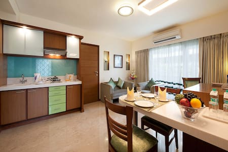 Luxurious and Comfortable 2 Bedroom in Bandra! - Maharashtra - Apartment-Hotel