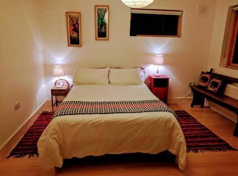 Bedroom 1 Ecovillage House Cloughjordan