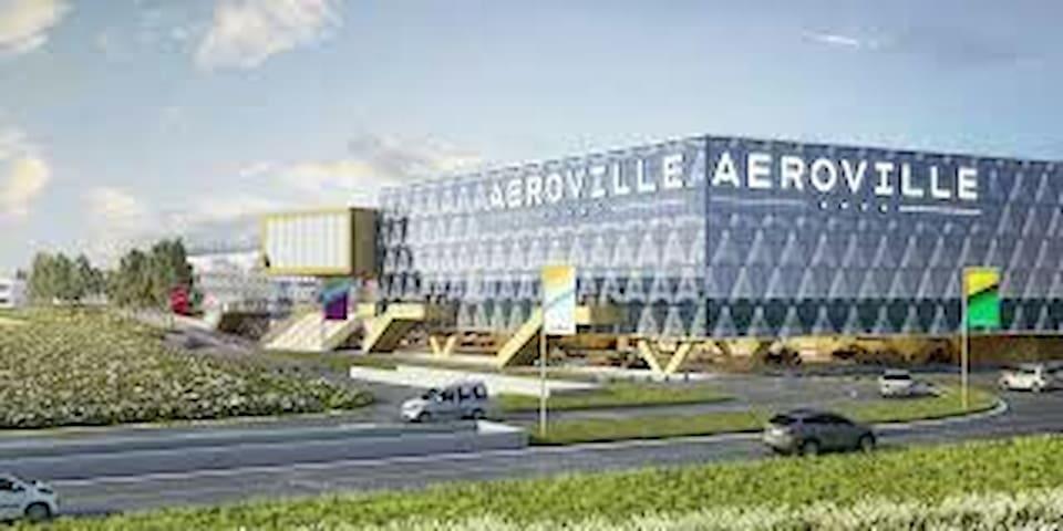 Chambre proche aéroport roissy cdg - Goussainville - House