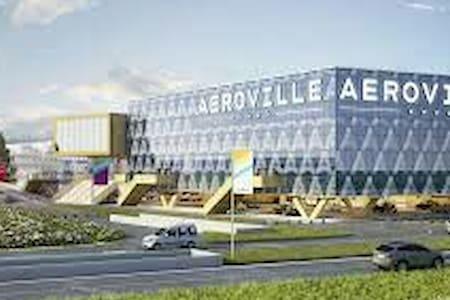 Chambre proche aéroport roissy cdg - Goussainville - Casa