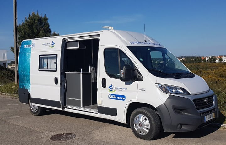 Campervan Portugal with wc 5 berth