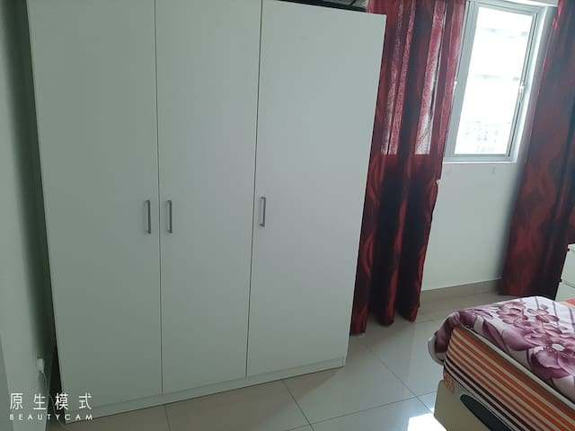 Cupboard in the room