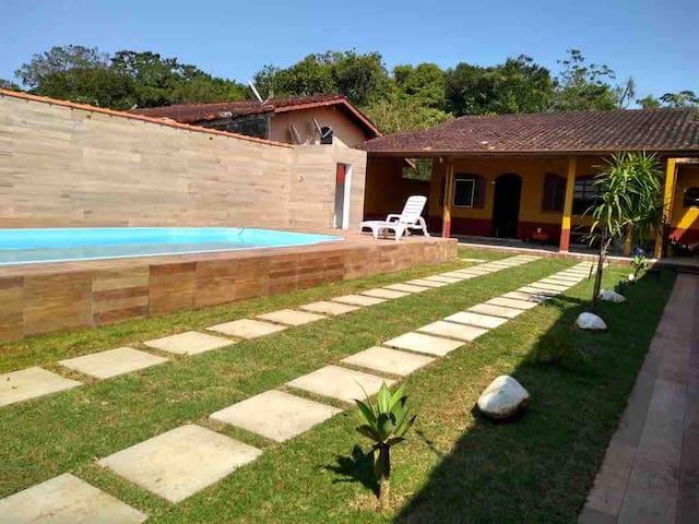 Casa na praia de Boraceia/Bertioga