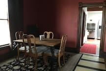 Dining room table Area