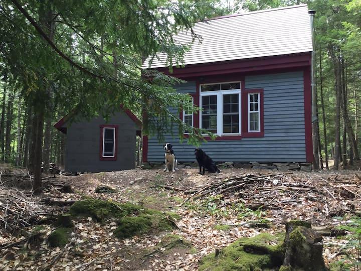 Post & Beam Cottage on Davis stream Must love dogs