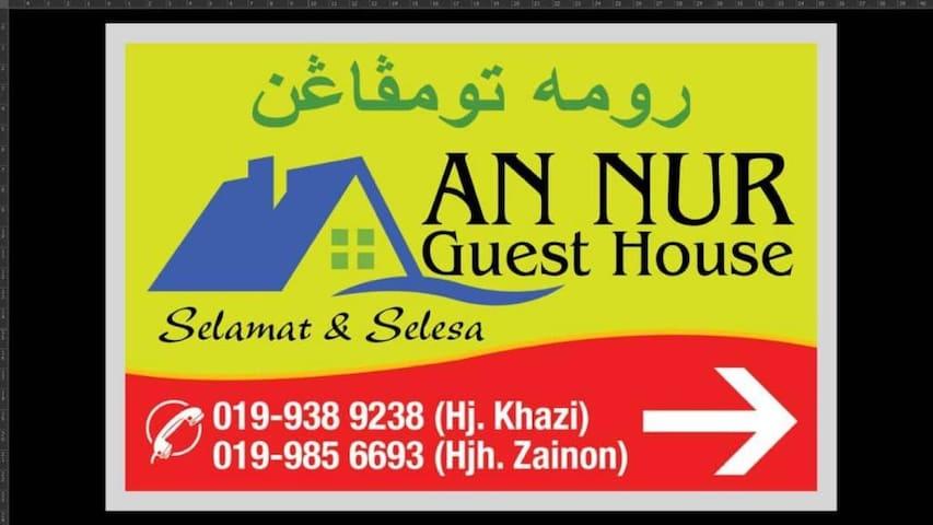 An Nur Guest House Kota Bharu