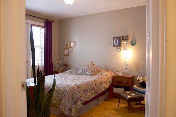 Vintage-inspired apartment - Ville de Québec