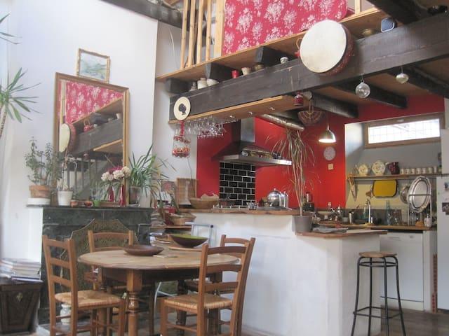 Maison chaleureuse au coeur de Barcelonnette - Barcelonnette - บ้าน