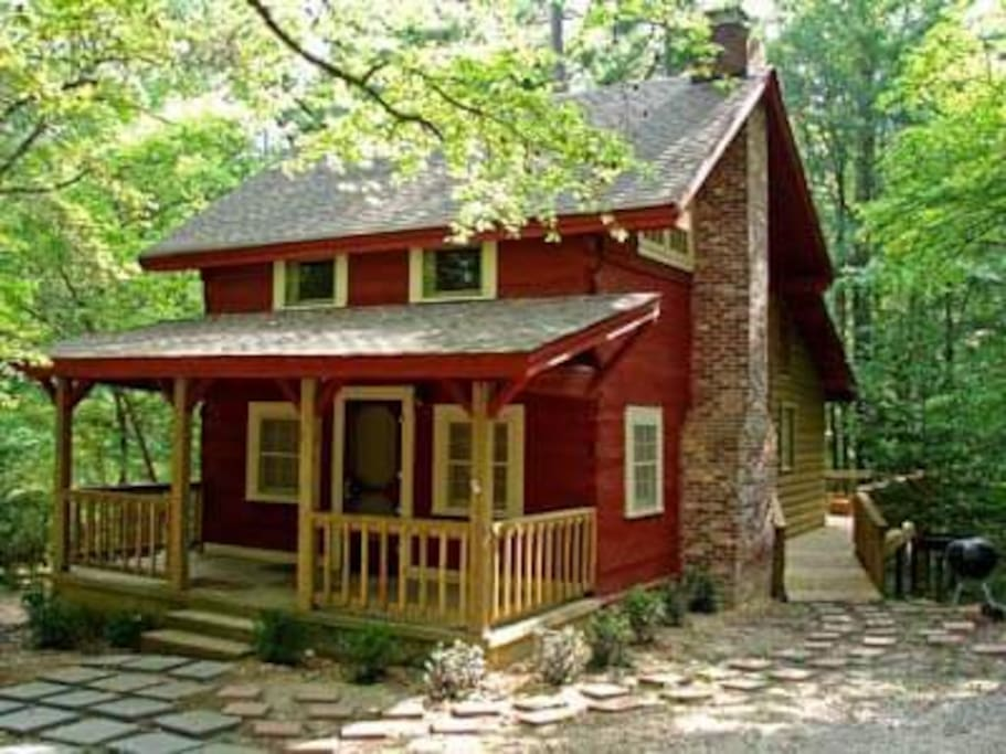 christina 39 s little cabin cabins for rent in mount ida
