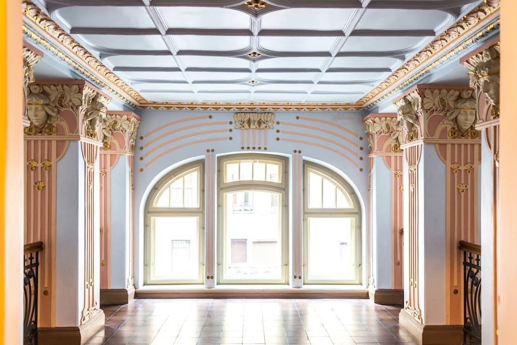 Art Nouveau Building Apartment Flats For Rent In R Ga R Gas Pils Ta Latvia