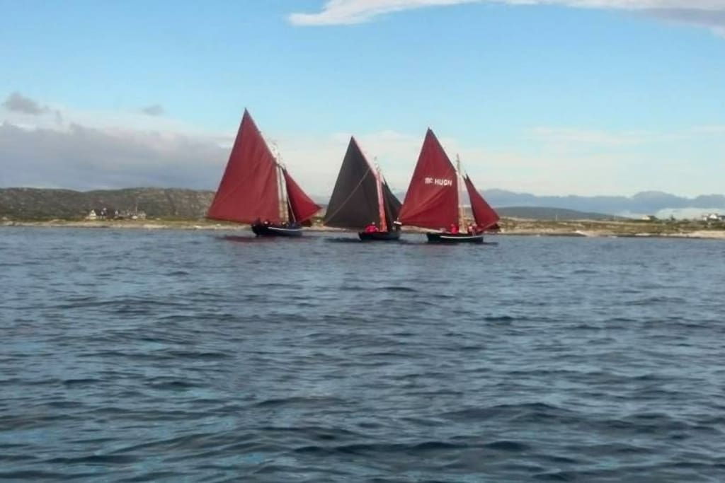 Traditional Galway Hookers