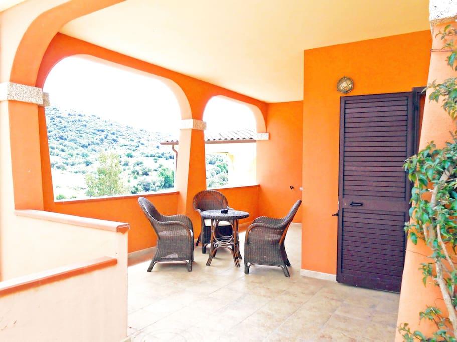 Ampia veranda su 2 lati