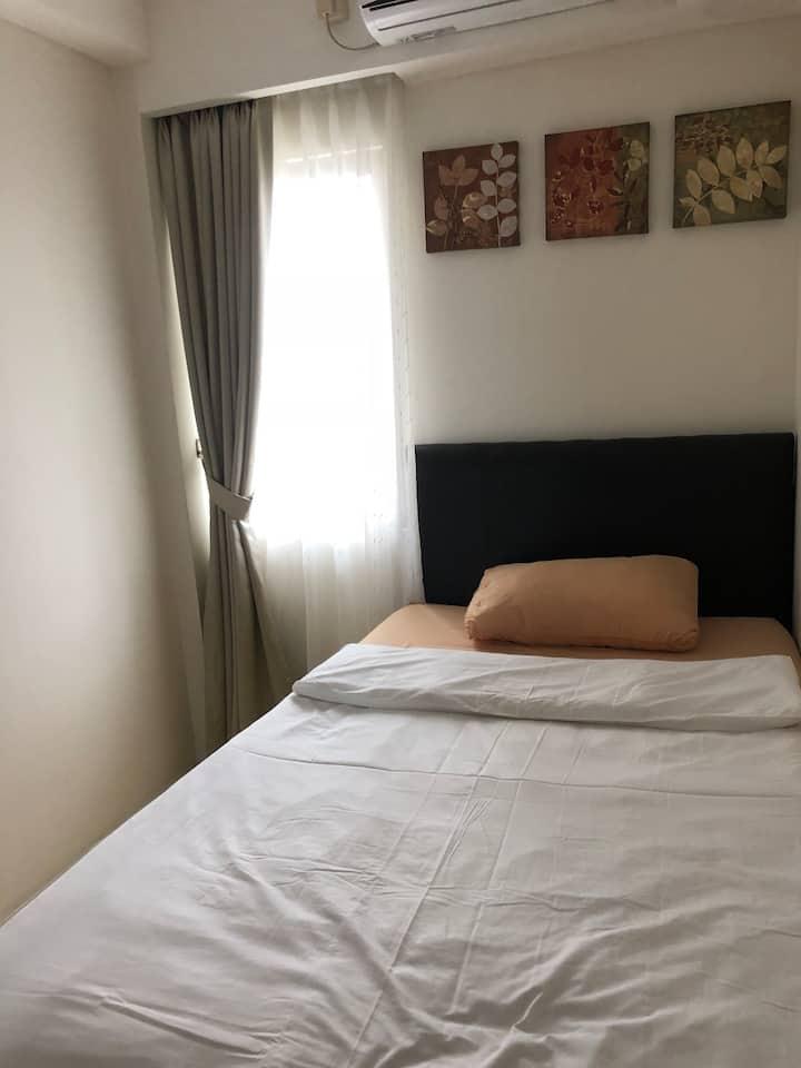 New 2-Bedroom apartemen at Sudirman Tangerang (near Bale Kota Mall)