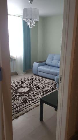 Комната для 3 гостей с общим туалетом и душевой