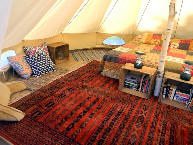 Foxtail Farm Stay: Birchbark Site - Greenville - Tent