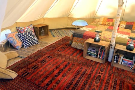 Foxtail Farm Stay: Glamping Site - Greenville