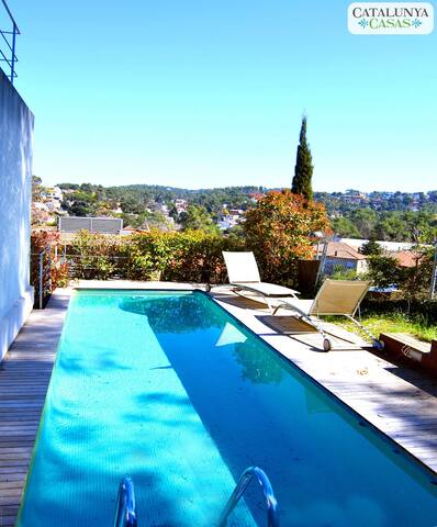 Floresta villa just 10km from Bcn! - Sant Cugat del Vallès - Haus