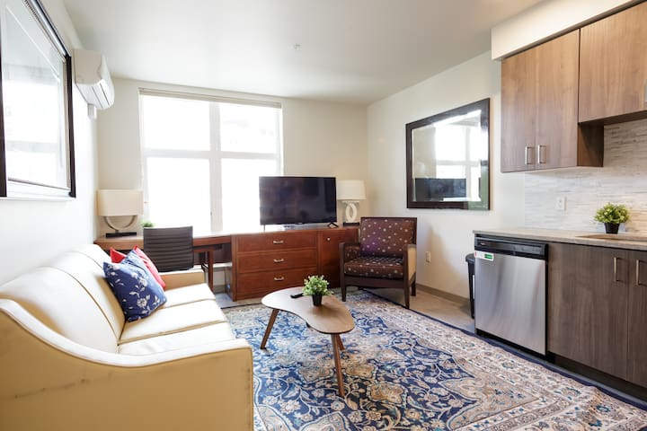 New bright 2 bedroom & 1 Bath Apt in  Downtown PDX