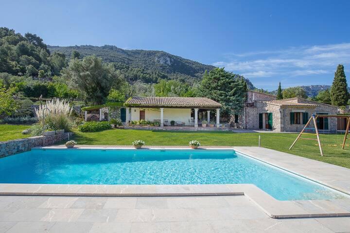 NEW! Son Beltran:Amazing villa,pool in Valldemossa