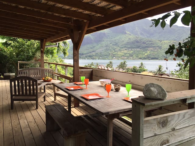 The Bungalow - Panoramic View - Moorea - Bungalo