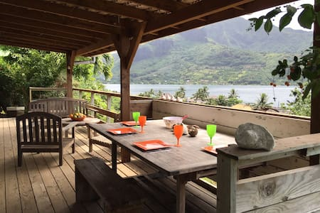 The Bungalow - Panoramic View - Moorea