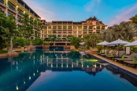 Family Connecting Room @ Angkor Miracle Resort/Spa