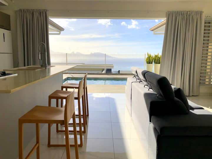 Villa Tiheni, the incredible sea view...