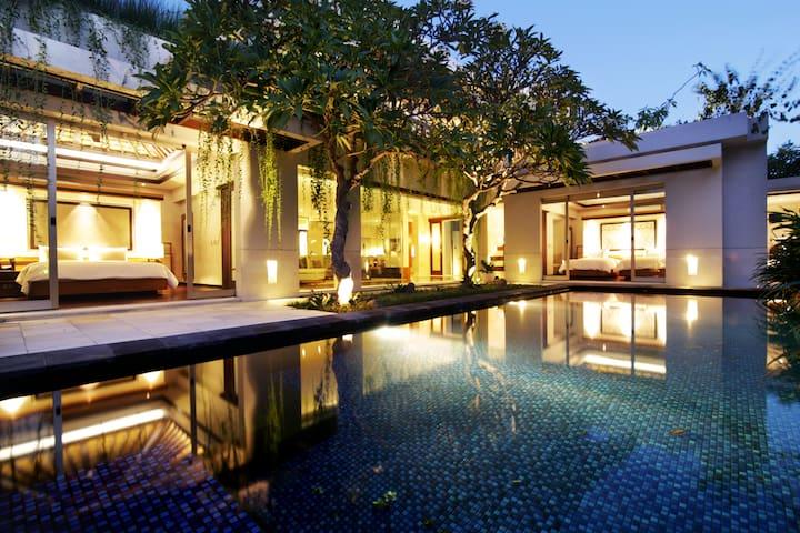 3br+Pool: Kedonganan Beach Villas on Jimbaran
