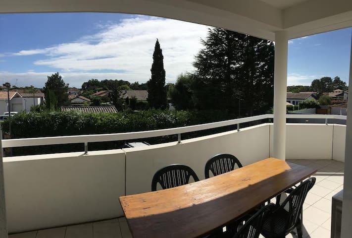 Location saisonnière en plein coeur de Labenne - Labenne - Appartement