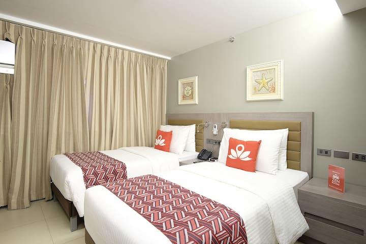 Exquisite Room at San Antonio Village - Makati - Bed & Breakfast