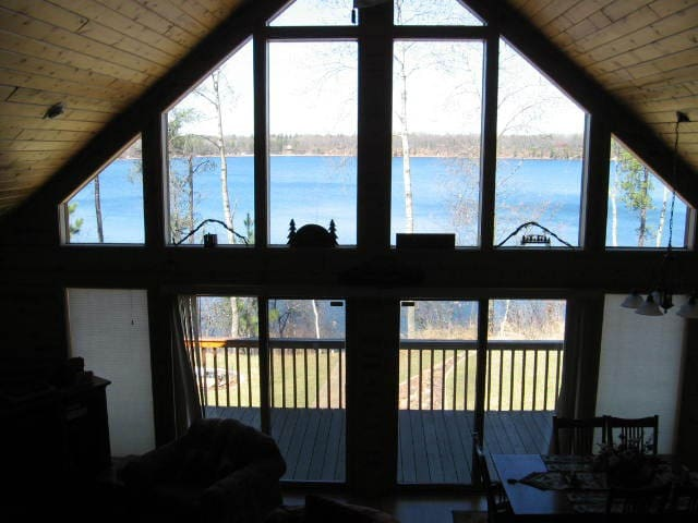 View of Lake from Lofted Master