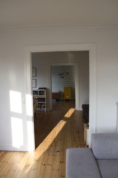view 3 rooms en suite