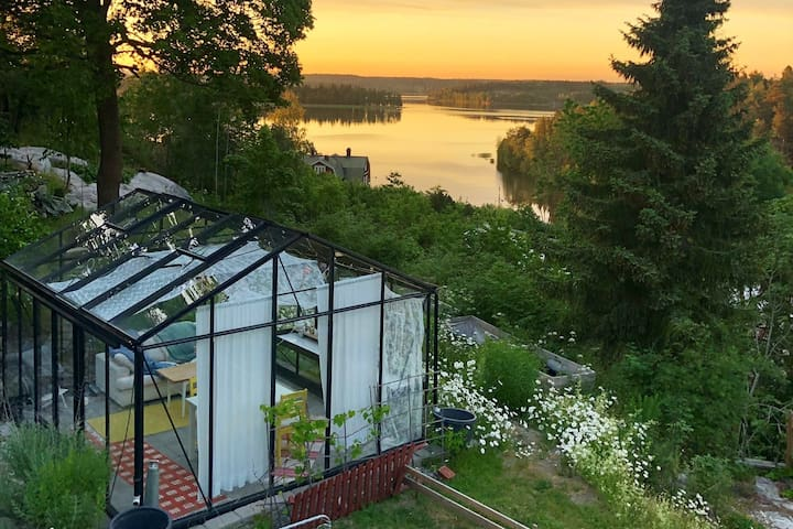 Large house, great views - 38min from Stockholm