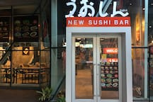 Sushi Bar in the Phyll mall