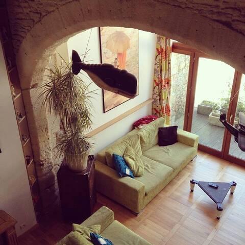 Charmante maison Normandie dans ancienne grange