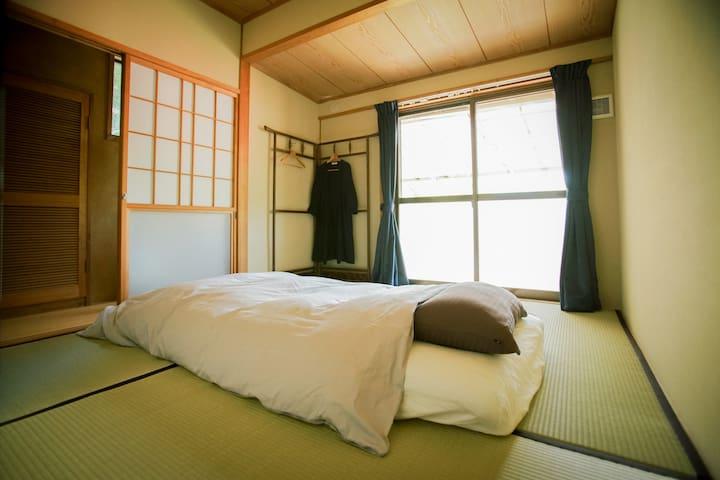 個室です。