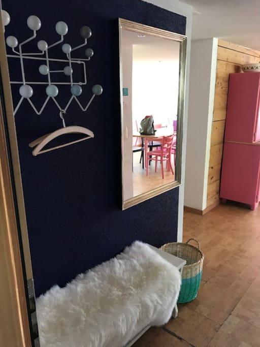 Eingang/Garderobe