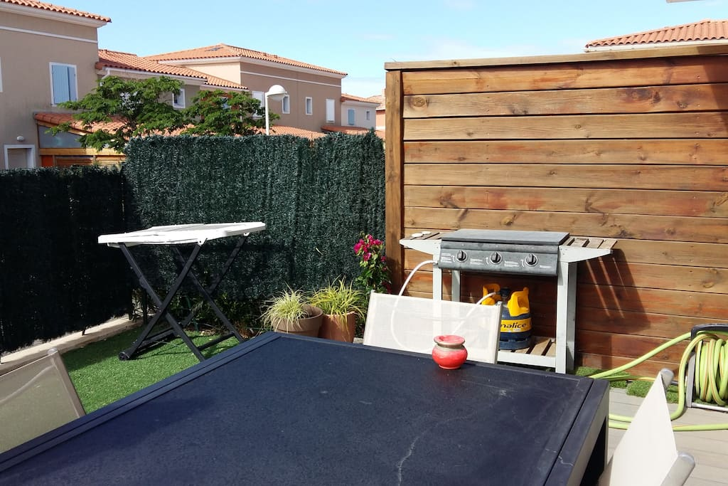 BARBECUE EN TERRASSE